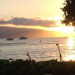 Sunset from Lele Luau