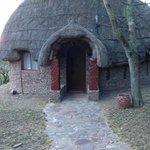 Notre hutte/chambre