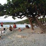 Siboney Beach Club beach area