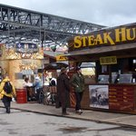 Stampede grounds- lots to eat!