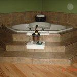 Jacuzzi tub.