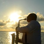 Enjoy the most romantic music aboard The Lobster Dinner Cruise.