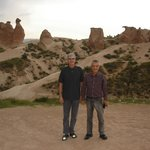"A huge ""chicken"" rock formation at the Pasabag Valley in Kapadokya"