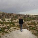 The endless mountains of Kapadokya