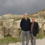 The beautiful Fairy Chimneys at the Pasabag Valley in Kapadokya