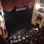 Dentro da opera. Visão do Atrium.