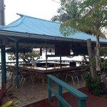 nice beach bar