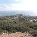 View from the top of hiking trail