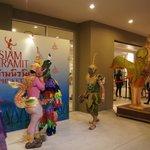 Перед входом в Siam Niramit