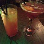 Tequila Sunrise & Cosmo