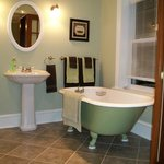 """Ensuite bathroom with """"The Dove's Nest"""""""