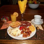 One of our delicious breakfasts