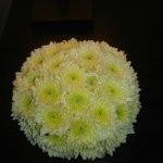 Flower decoration at the Paradise Road Tintagel Colombo Hotel's lobby