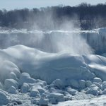 Frozen American Falls, March 7, 2014