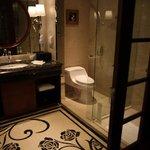 Bathroom.  Has separate shower and bath.