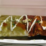 """13"""" Tortilla Wet Burrito, delicious with real meat inside"""