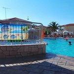 Pool and kids pool