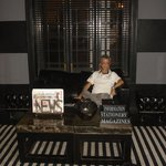 A designer signed library at the Paradise Road Tintagel Colombo Hotel