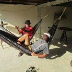Plenty of hammocks,