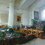 Lindo lugar para pasear dentro del hotel