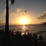 Sunset from the Beach House Restaurant