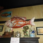 déco red fish