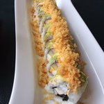 NY roll - $11.95- crab, shrimp, cucumber, and cream cheese