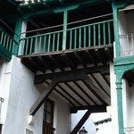 Detalle de un balcón