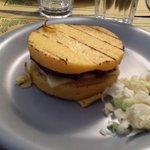 Hamburger di polenta