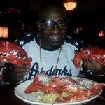 Delicious 4 lb Lobster