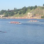 Jr. rowing regatta on South shore