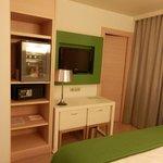 TV y minibar