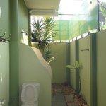 funny outside bathroom