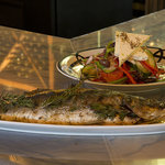 Whole Grilled Fish and Horitaki