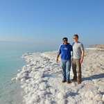 Dead Sea with Ibrahim