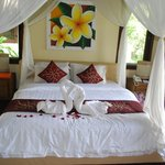 Deluxe room at Nandini Resort