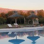 piscina y Casa de campo
