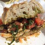 Bruschetta Chicken Sandwich - awesome!