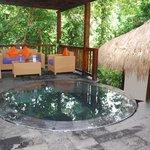 Spa area of Nandini Resort
