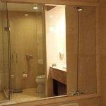Bathroom - shower & toilet
