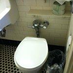 older toilet, but was fine