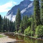 Merced River near campground