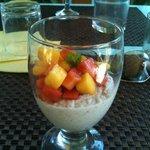 A healthy natural tasty sugar free dessert