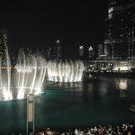 Dubai fountain.