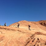 Hiking in Snow Canyon State Park