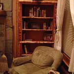 Another Bookcase in Cabin