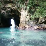 Whenuakura (Donut Island) - through the cave to the centre of a very special place