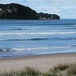 Whangamata Beach - a short stroll to swim, walk, surf or just sit