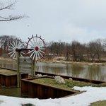 Windmill Island in the winter