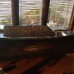 para un rico baño....